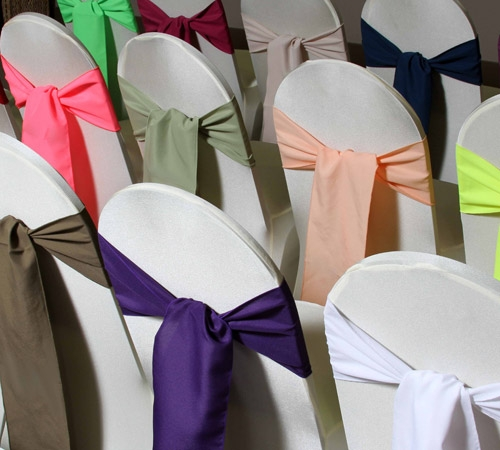 Chair cover rentals in Louisiana