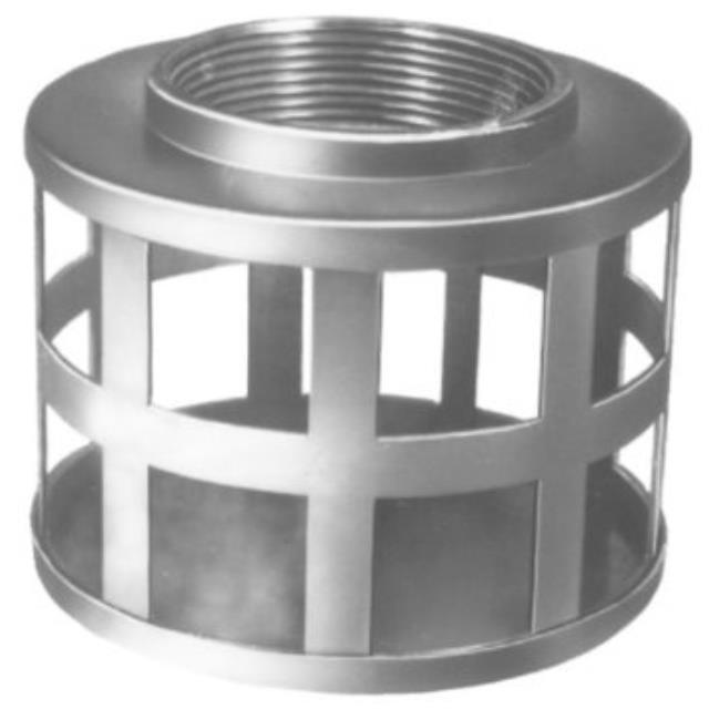 Where to find 2  SQUARE HOLE STRAINER in Hammond