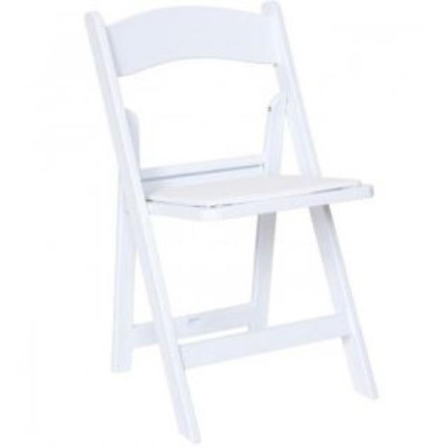 Where to find WHITE RESIN FOLD CHAIR in Hammond