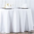 Rental store for 120  RND POLYESTER TABLECLOTH in Hammond LA