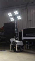 Rental store for LED ECO-CHAIN PLUG IN LIGHT TOWER in Hammond LA