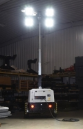 Rental store for LED ECO- TOWABLE DIESEL LIGHT TOWER in Hammond LA