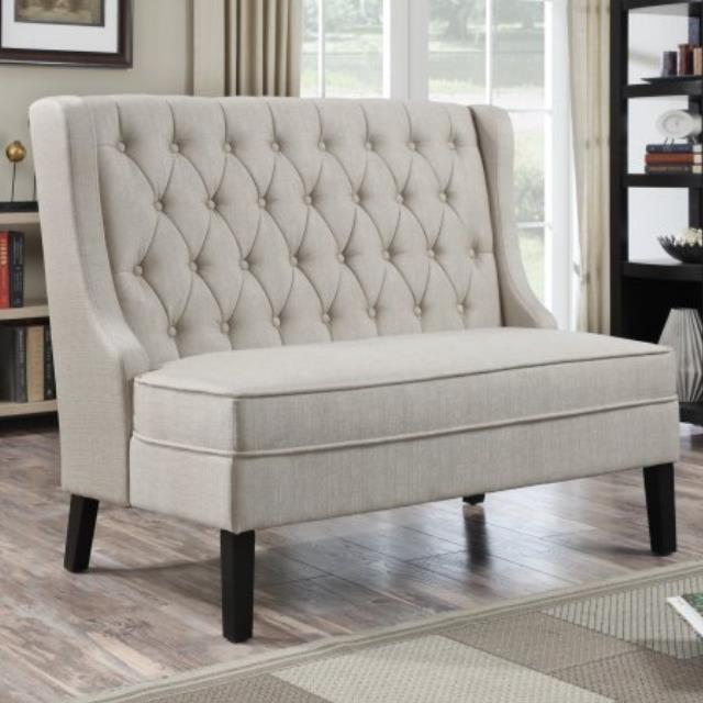 Where to find Meridian Banq Bench Sette-Tux Oatmeal in Hammond
