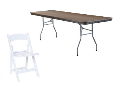Rent Your Tables And Chairs