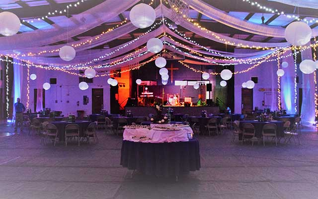 Wedding rentals in Hammond LA